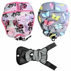 LOT 2 Colors LEAK PROOF Cat Female Dog Diaper Pants WATERPROOF Washable PADDING