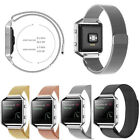 Milanese Stainless Steel Magnetic Loop Watch Band Strap For Fitbit Blaze Tracker