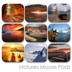 NATURE LAND FOREST WATERFALL EARTH VIEW CUSTOM MOUSE PAD MOUSEPAD  (LM-05)