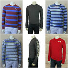 ABERCROMBIE & FITCH MEN`S CREW NECK TEE LONG SLEEVES NEW SIZES M , L