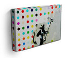 BANKSY LSD DAMIEN HIRST CANVAS ART PRINT - READY TO HANG