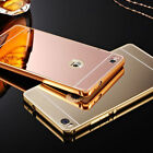 Luxury Aluminum Metal Bumper Case PC Back Cover For HUAWEI P8 & P9 Lite