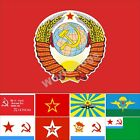USSR Military Flag 3X5FT Commander Victory Air Forcr Redban Naval Jack Guard $30.0 USD on eBay