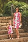 Mud Pie Mom & Me Mia Embroidered Dress Pink Floral  #1142214 & 8503142P