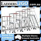 MONSTAR ORDER PICKER LADDERS 2 TO 6 STEP VERSIONS AVAILABLE (VIC)