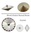 Genuine 1122 Swarovski RIVOLI Shaton Round Stones 14 mm Various Colors 1 o