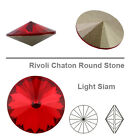 Genuine 1122 Swarovski RIVOLI Shaton Round Stones 14 mm Various Colors 1 or 2pcs