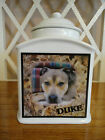 Pet Memorial Urn Personalized, Dog, Cat, Photo Urn, Add poem, Personalised