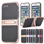 Heavy Duty Hybrid Armor Kickstand Case Cover For Apple iPhone & Samsung Galaxy