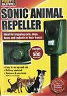 SONIC ULTRASOUND ANIMAL RATS RODENTS REPELLER PEST CATS DOGS FOXS MOLES GARDEN