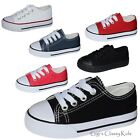 Внешний вид - New Baby Toddler Boys Girls Low Classic Canvas Tennis Shoes Kids Skater Sneakers