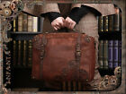 Retro Rock Vintage Gothic Magic Steampunk Shoulder Bag Handbag Gear Briefcase