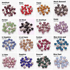 300pc 4mm faceted crystal glass Sew On Cup Rhinestone Montees silver Claws beads