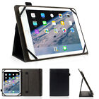 Slim Protective Folio Universal Case Leather Stand Cover for Samsung Tablet