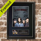 ALTER BRIDGE Mounted Signed Photo Reproduction Autograph Print A4 645
