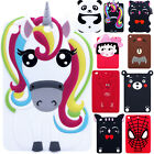 Flexible 3d Lovely Rubber Kids Safe Anti-shock Case Cover For Ipad Mini 4/1 2 3
