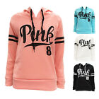 Women Long Sleeve Hoodie Sweatshirt Sweater Casual Hooded Coat Pullover XL-S
