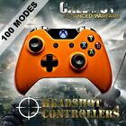 Xbox One/S/X Met Orange Arb 5 Rapid Fire 4 x Carbon Paddle Controller COD BF GOW