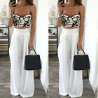 Casual Womens Palazzo Pleated Long Pants Yoga High Waist Wide Leg Loose Trousers