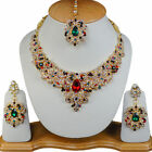 Indian Girls Choice Handmade Bollywood Most Likeable CZ Stone Necklace Sets
