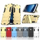 """For Nokia 6 5.5"""" Shockproof Case Hybrid TPU Silicone Stand Holder Cover PC+Armor"""
