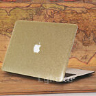 Rose Gold Leather Bling Shiny Glitter Hard Cover for MacBook Air Pro 13