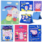 Cute Peppa Pig Magnetic Leather Flip Wallet Case Stand Cover For Ipad 2 3 4 Air6