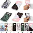 For Various Series Phones New Marble Pattern Soft TPU Case Back Cover Skin YH