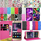 For HUAWEI P8 LITE 2017 -Premium Wallet Leather Case Flip Cover + Touch Stylus