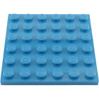 LEGO - 3958 6x6 PLATE - SELECT QTY & COL - BESTPRICE GUARANTEE + FREE GIFT - NEW