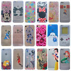 Disney Mickey Mouse Stitch Slim Soft TPU Clear Case Cover for iPhone 5/5S/SE