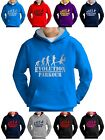Evolution Parkour Free Running Hoodie Kids Sweatshirt Smartphone Compatable