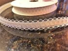 20 + yard Vintage Bolts- Lace with Satin Center-5/8* Ribbon Trim