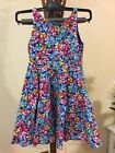 New Ralp Lauren Girls FLORAL Fit and Flare  Dress size 6 & 12