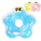Baby Infant Neck Float Collar Kids Ring Aerated Swimming Lifebuoy Tube Safety