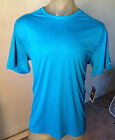 NEW NIKE RELAY RUNNING TRAINING REFLECTIVE DRI-FIT MENS X-LARGE TEAL T-SHIRT