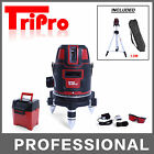 SELF LEVELLING 5 LINES CROSS ROTARY MULTI BEAMS LASER LEVEL + TRIPOD +