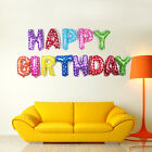 """NEW 13X """"HAPPY BIRTHDAY"""" LETTERS FOIL BALLOONS FOR PARTY BIRTHDAY DECORATION 16"""""""