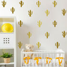 1set Removable Creative Multicolor Cactus Wall Stickers Room Decoration