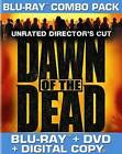 Dawn of the Dead (Blu-ray/DVD, 2011, 2-Disc Set, Unrated Directors Cut) - NEW!!