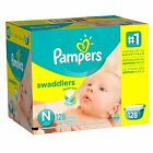 Pampers Swaddlers Diapers Size N, 1, 2, 3, 4, 5, 6 CHEAP!!! NO TAX