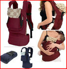 Внешний вид - Newborn Infant Baby Carrier Comfort Breathable Backpack Buckle Sling Cotton Wrap