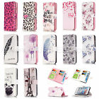 9 slots cards Purse Cartoon PU leather stand Wallet flip cover case For iPhone