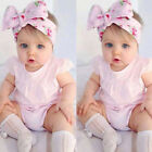 USA Toddler Infant Newborn Baby Girls Romper Jumpsuit Bodysuit Outfits Clothes