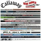 New 2017 Callaway Custom Driver Opti-Fit Shafts - Pick From 55+ Models & Flexes