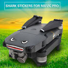 New Shark decoration Waterproof Decal Skin Sticker for DJI Mavic Pro RC Drone