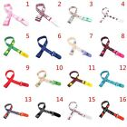 Infant Dummy Pacifier Baby Toddler Boy Soother Nipple Shield Chain Clip Holder