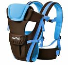 Newborn Infant Adjustable Comfort Baby Carrier Sling Rider Backpack Wrap Straps