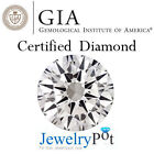 0.53CT G SI1 Round GIA Certified Natural Loose Diamond Stone (Cert 2156593042)