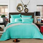 NEW 100% Cotton Aqua Waffle Tailored Edge Quilt/Doona/Duvet Cover Set -S D Q K